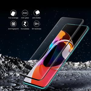 Image 3 - Voor Xiaomi Mi 10 Pro Gehard Glas Screen Protector Nillkin 3D Volledige Dekking Veiligheid Beschermende Glas Voor Xiaomi Mi10 Mi 10 Pro