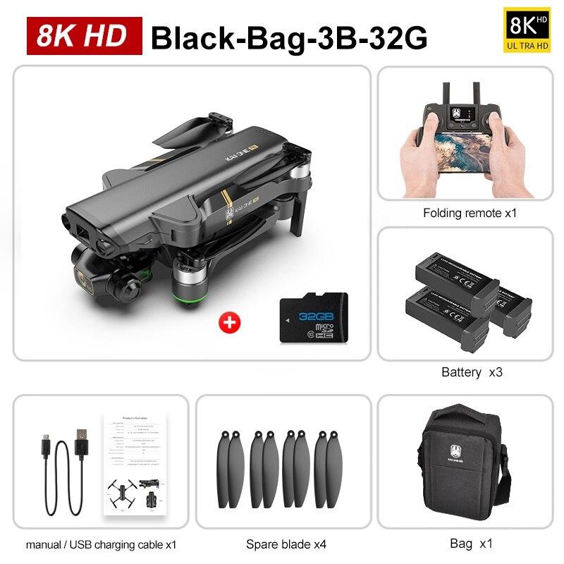 8K BackPack 3B 32G