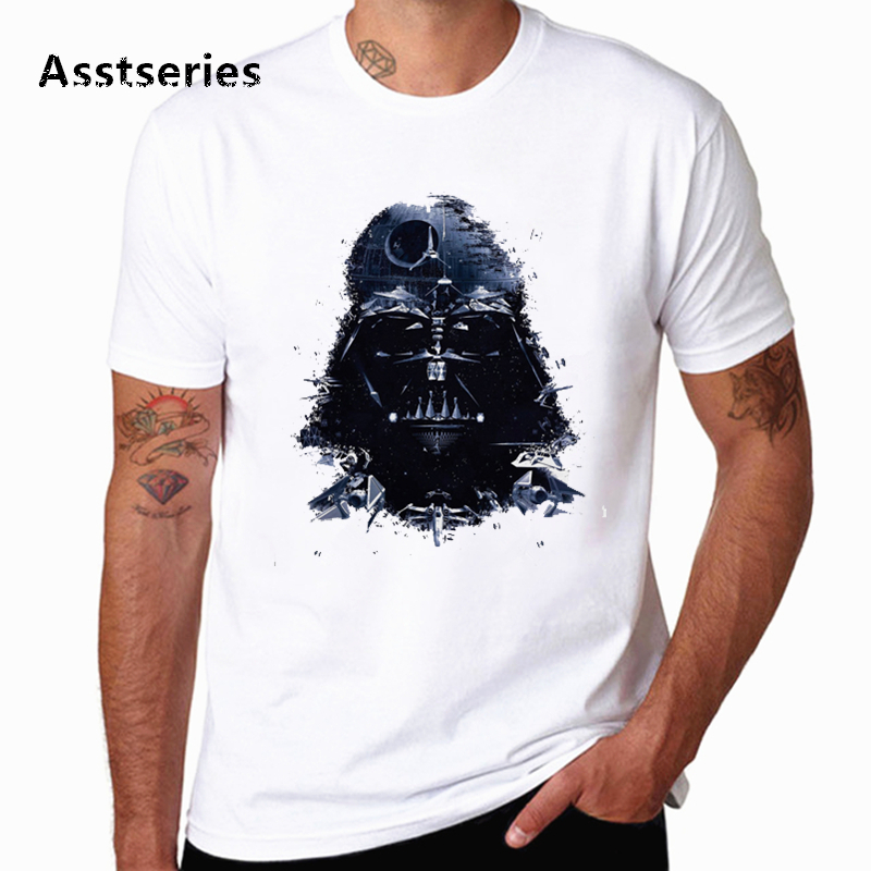 Funny Star Wars T shirt Male Summer Harajuku Novel Warrior Fighting Tshirt Comfortable Casual Breathable Round Neck T-shirt image