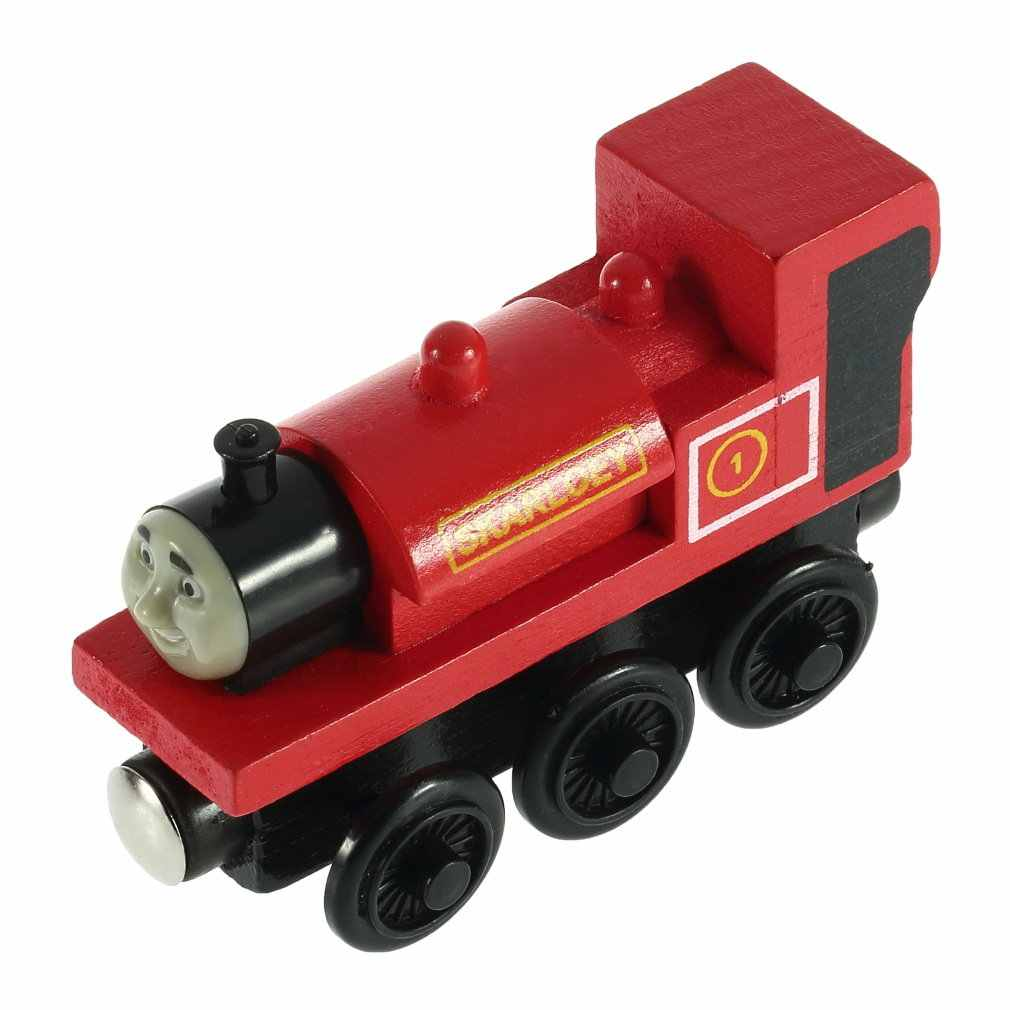 Diecast Vehicles Toy Train RHENEAS Red Fit For BRIO Toy Car T109D Truck Locomotive Engine Railway Toys for Children