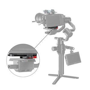 Image 5 - SmallRig DSLR Kamera Quick Release Platte Offset Kit für BMPCC 4K & 6K & Ronin S Kran 2 moza Air 2 Gimbal 2403