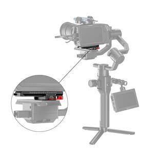 Image 5 - SmallRig DSLR kamera hızlı çıkarma plakası ofset kiti BMPCC 4K & 6K ve Ronin S vinç 2 moza hava 2 Gimbal 2403