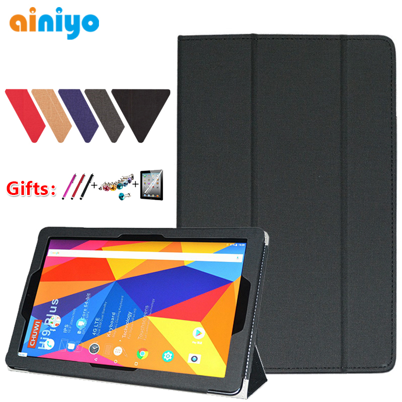 For CHUWI Hi9 Plus Case High Quality Stand Pu Leather Cover For CHUWI Hi9plus 10.8