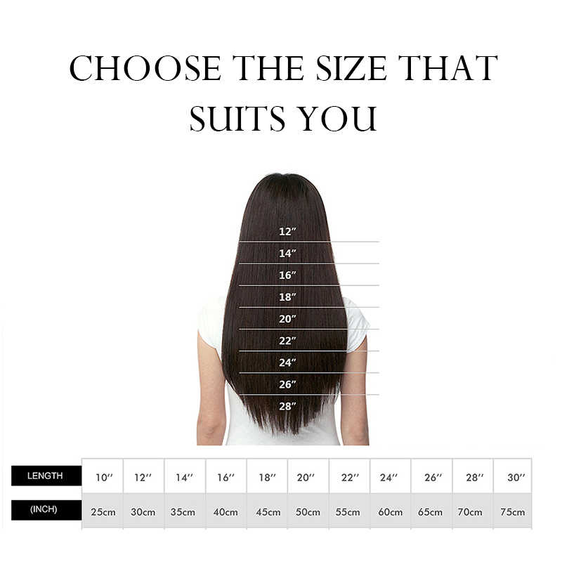"""LuxyBeauty 1g/pc 12""""-22""""#1 Jet Black Nail Hair Fusion Hair Extensions Straight Remy Human Hair"""