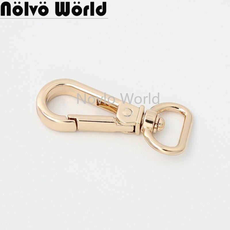 10-50 pieces 5 colors 49*16mm 50*19mm handbag purse shoulder strap belt clasp clip snap hook buckle swivel hook bag fitting