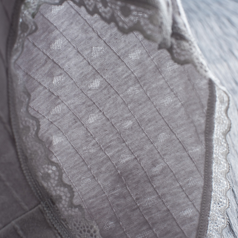 H8a49415360f44a8388c47a2a9a0b80fbr Bragas de algodón a rayas bragas a media cintura ropa interior Sexy encaje de mujer Lencería ropa interior transpirable Antibacterial íntimos femeninos