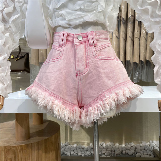 Hot sale summer woman denim shorts high waist ripped jeans shorts fashion sexy female shorts S-2XL drop shipping new 6