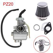 Carburateur PZ20, 20mm, pour moto 50cc, 70cc, 90cc, 110cc, 125cc, 135, pour Kazuma, ATV, Quad, Go kart, SUNL