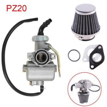 PZ20 20mm Motorcycle Carburetor Carb For 50cc 70cc 90cc 110cc 125cc 135 For Kazuma ATV Quad Go kart SUNL 40mm pd40j 4 stroke motorcycle carburetor vacuum carburetor case atv quad carb for polaris scrambler 500 4x4 sportsman 500 worke