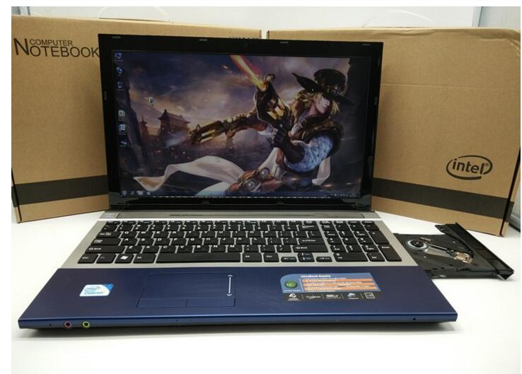factory 15.6'' laptop notebook Black color N3520  up to 3.0GHz HDMI USB 3.0 Bluetooth 4GB ram 500gb HDD