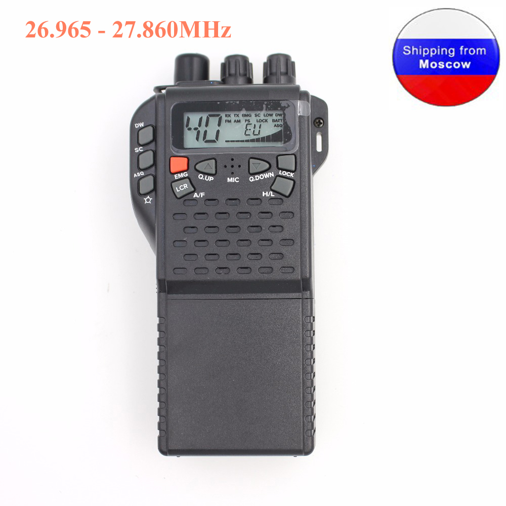 CB Radio 27MHz MR999 Pro CB-270 Walkie Talkie With LCD Diaplay 40 Channel AM FM Radio CB270 26.965 - 27.860MHz