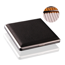 Clip Cigarette-Box Hold Metal 20-Sticks Pocket Iron Fixed High-Quality