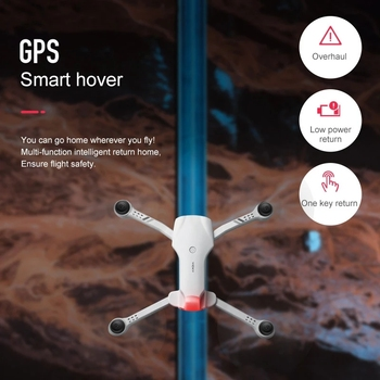 2021 NEW F10 Drone 4K 5G WiFi Video FPV Quadrotor Flight 25 Minutes Rc Distance 2000m Gps Rc Drone HD Wide-Angle Dual Camera Toy 6