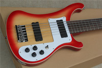 free shipping Top Quality music instruments electric bass guitar Rosewood Fretboard 4003 bass guitar S/6 6 String 5yue6