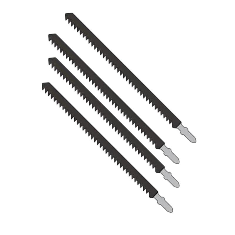 4pcs Jigsaw Baldes T744D 180mm  6TPI Long High Carbon Steel Jigsaw Cutters Home Wood Working Tool Parts