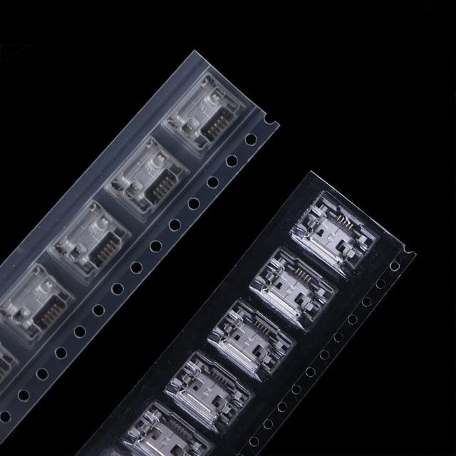80 шт микро usb гнездо jack 5 pin 8 моделей припоя крепление фотография