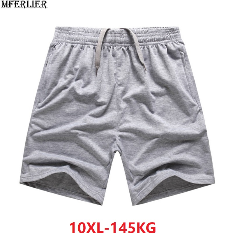Summer Large Size Shorts Men Cotton Soprts Shorts 7XL 8XL 10XL Big Sales Cheap Shorts Oversize Comfortable Soft Loose 150KG 66