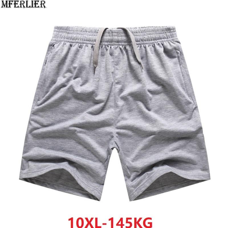 Summer Large Size Shorts Men Cotton Soprts Shorts 7XL 8XL 10XL Big Sales Cheap Shorts Oversize Comfortable Soft Loose 150KG 66