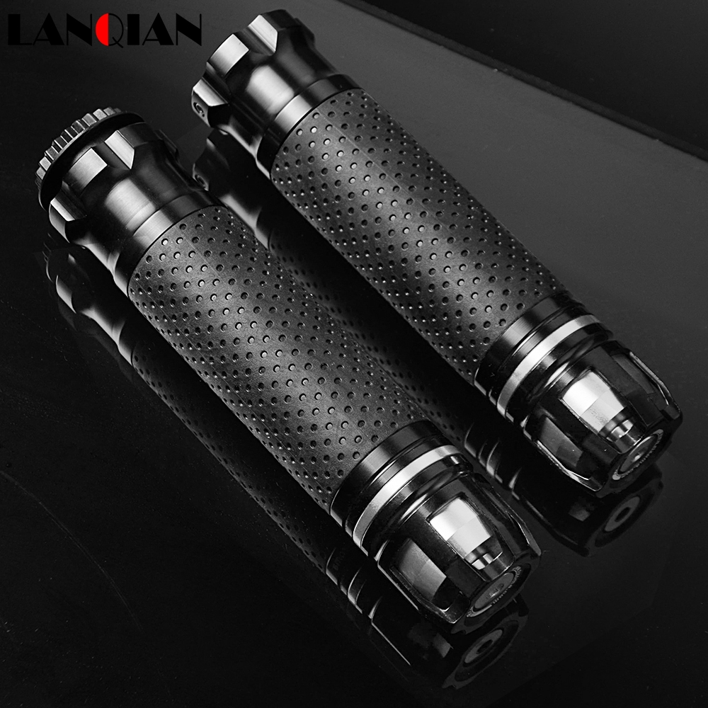 Universal Motocross CNC 22 25 28MM Motorcycle Handle Bar Caps Handlebar Grips For DUCATI 900SS/900 Sport M900 900 Monster 916