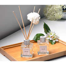 Fragrancea Rotan Aromaterapi Set Reed Oil Diffusers Alami Tongkat Botol Kaca dan Minyak Wangi 30 Ml Reed Diffuser Set(China)