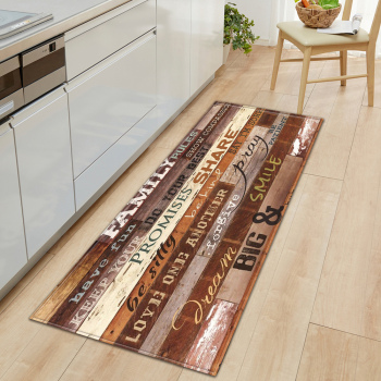 Nordic Anti Slip Kitchen Mats Suitable for Bedroom and Hallway Entrance Floor Decoration