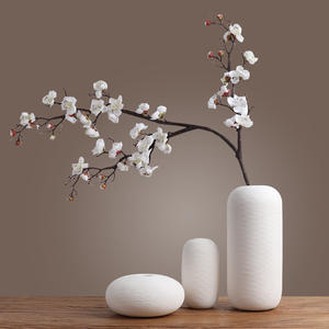 Ceramic Vase Decoration modern simple Japanese Zen style flower drying device Tea House Hotel living room porch decoration