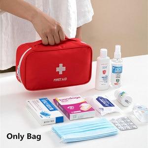 Image 2 - Новый стиль, большие пустые портативные аптечки, бытовая уличная Сумка для кемпинга, путешествий, спасения, медицинская сумка для аварийной терапии