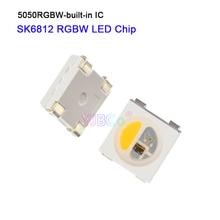 1000pcs SK6812  in 1 LED Chip Individually Addressable Digital 5V 5050  RGBW RGBWW RGBNW Pixels Lamp Beads for led strip light