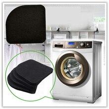 Стиральная машина Антивибрационная панель коврик Non-Slip шок подушечки коврики холодильник 4 шт./компл. Кухня Аксессуары для ванной комнаты Ванная комната коврик