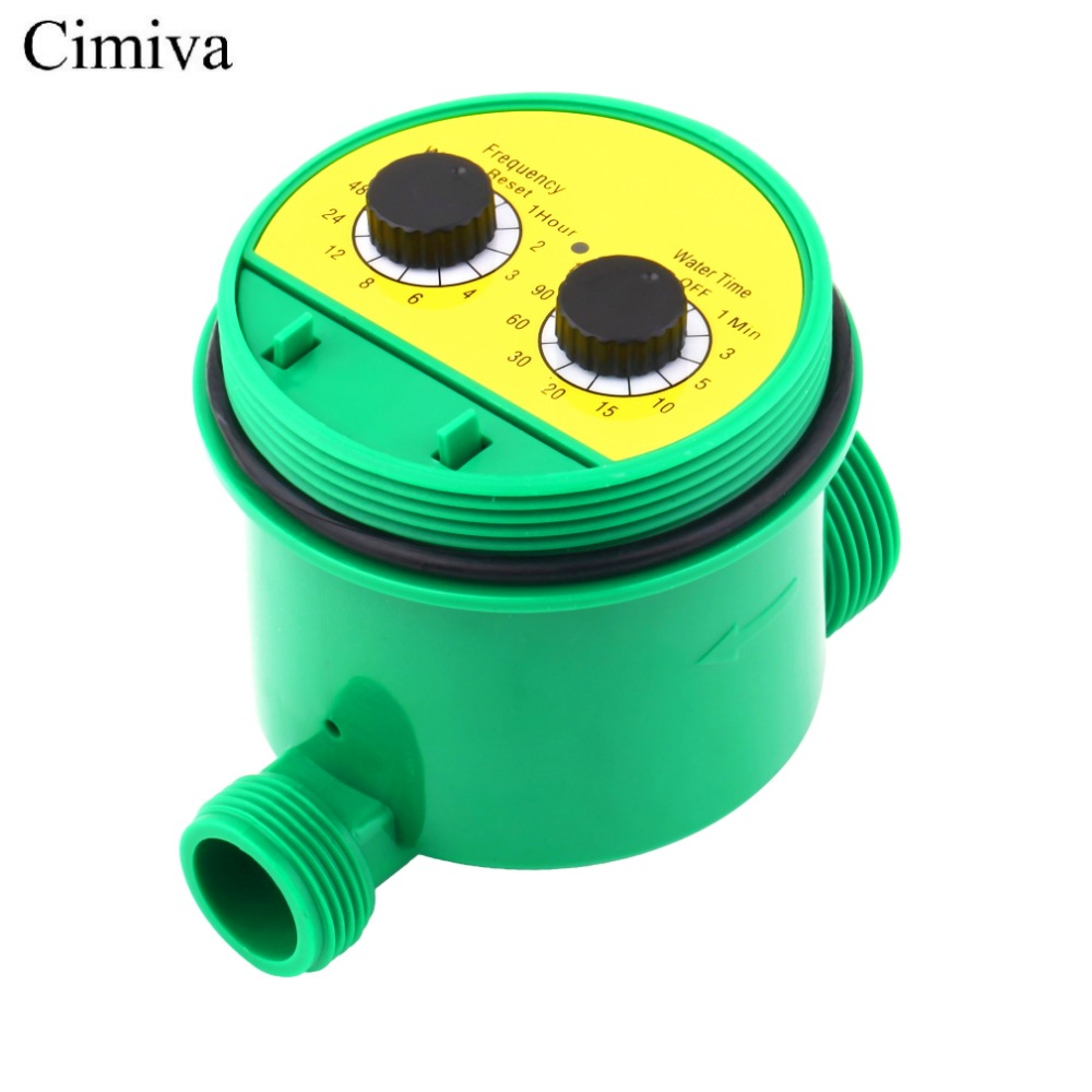 Cimiva LCD Digital Electronic Intelligence Water Timer Garden Lawn sprinkler drip Irrigation title=