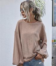 Модный Свободный осенний свитер для женщин 2020 новый элегантный