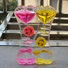 Creative Colorful Sand Glass Timer Sandglass Hourglass Clock Time Home Decor