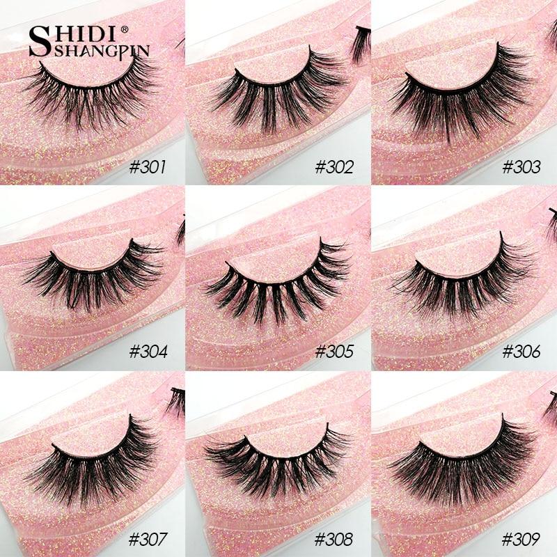 Image 4 - SHIDISHANGPIN Wholesale Eyelashes 3d Mink Lashes Natural Mink Eyelashes Wholesale False Eyelashes Makeup False Lashes In BulkFalse Eyelashes   -