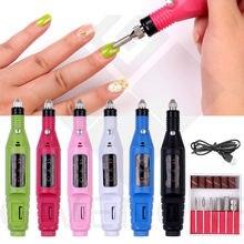 Профессиональная электрическая дрель для ногтей с зарядкой от