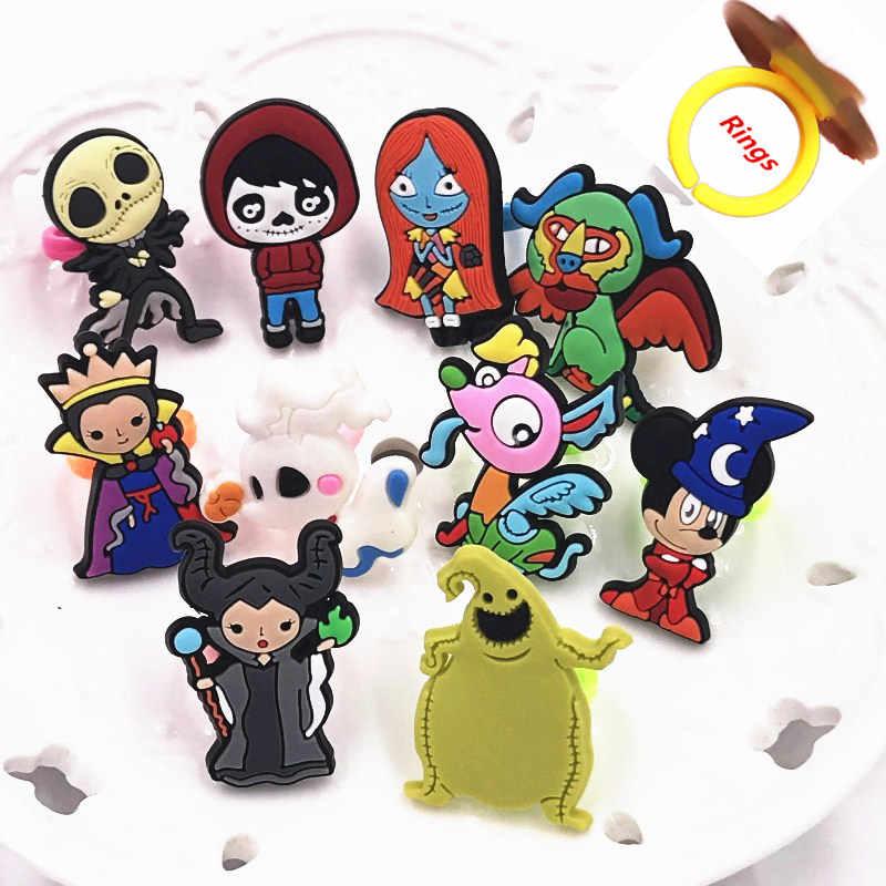 1Pcs Del Fumetto S 'Oogie Boogie di Halloween Del Bambino Bello Trinket Bambini Anello di Barretta Mickey Icona Per Il Ragazzo Della Ragazza Dei Bambini Di Compleanno regali