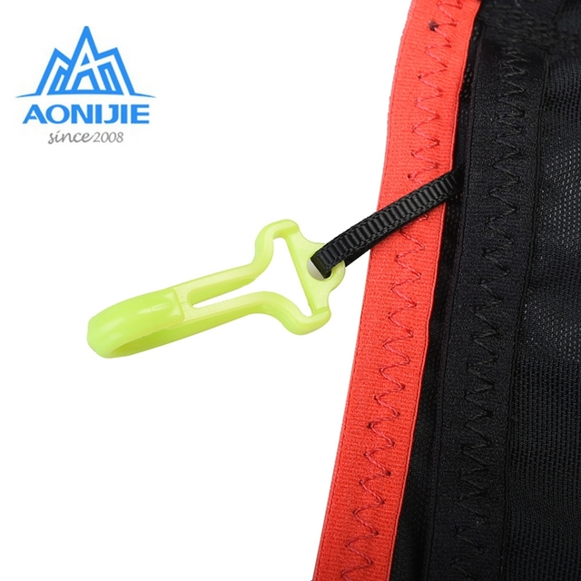 Aonijie Outdoor Waist Belt Bag Portable Ultralight Waist Packs Phone Holder For Trailing Running Camping With Water Soft Flask 4