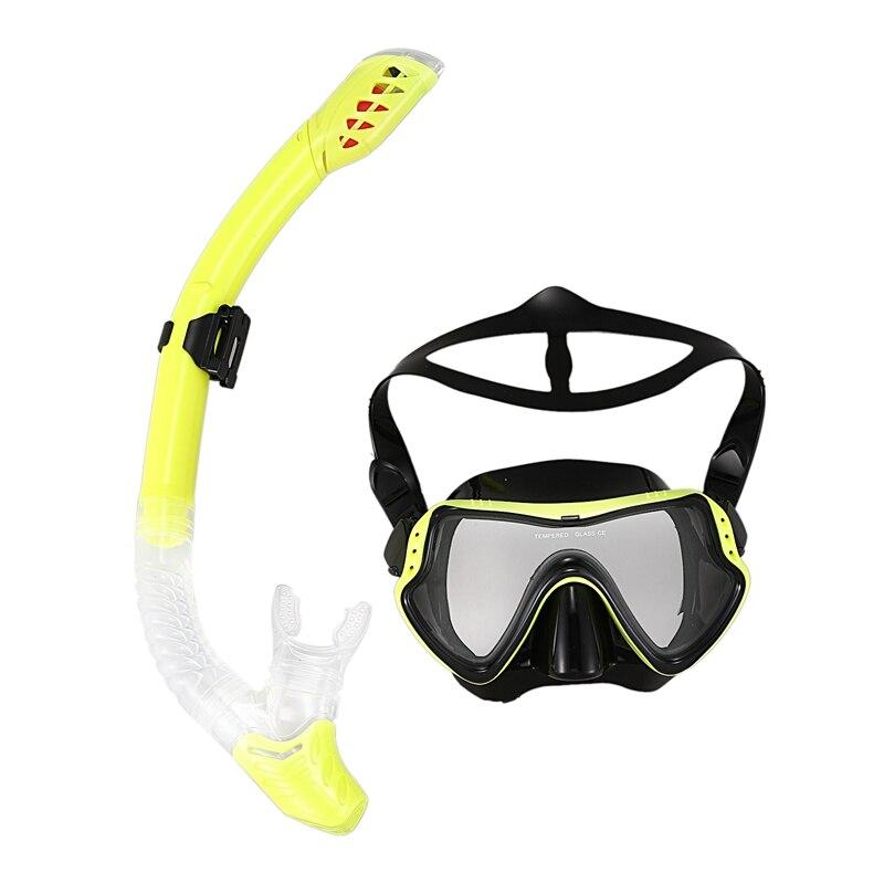 natação óculos máscara de mergulho conjunto