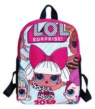 Lol 깜짝 lol 인형 남성과 여성 학생 만화 schoolbag 모범생 배낭 offload schoolbag 캔버스 배낭