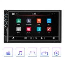 """Автомагнитола 2 din автомагнитола """" HD Bluetooth мультимедийный плеер 2DIN сенсорный экран Авто аудио стерео MP5 Bluetooth USB TF FM 5"""