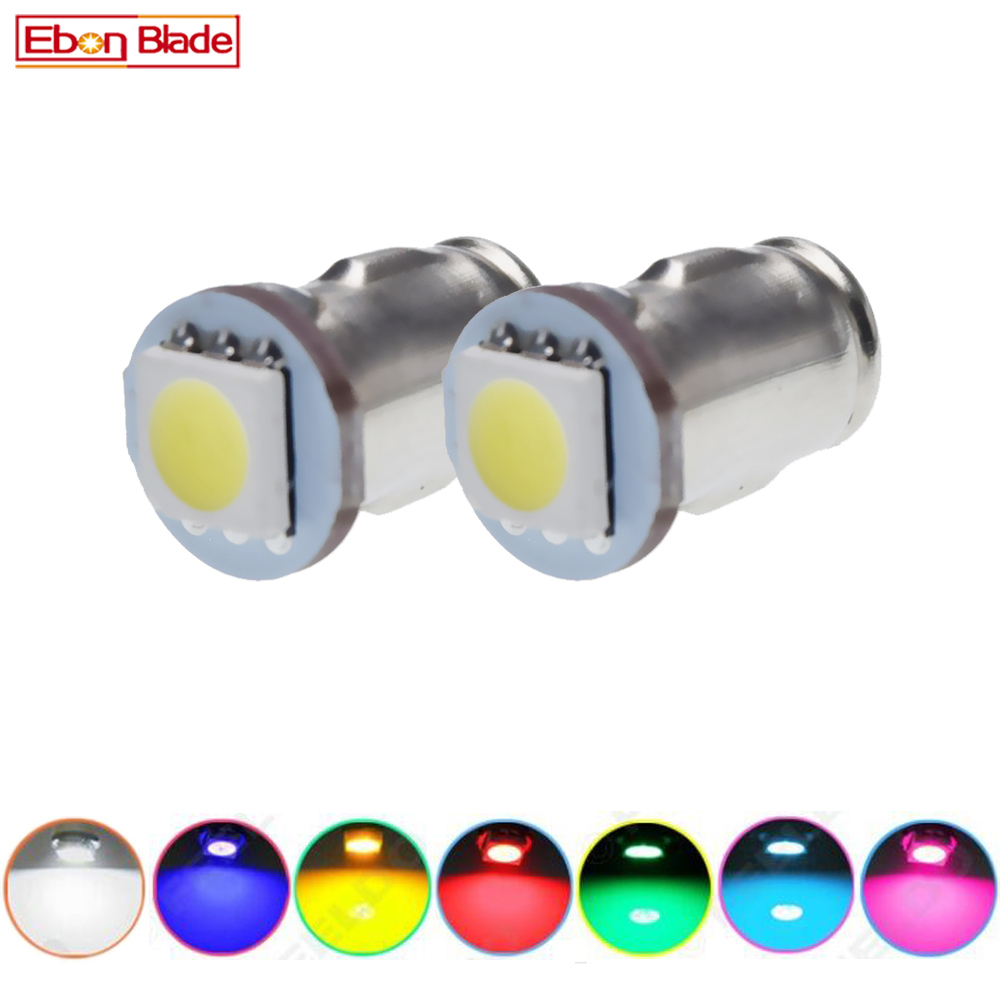 2Pcs BA7S LLB281 GLB281 LED Car Bulb Interior Instrument Dashboard Light Auto Lamp White Red Ice Blue Yellow Green Pink 6V 12V