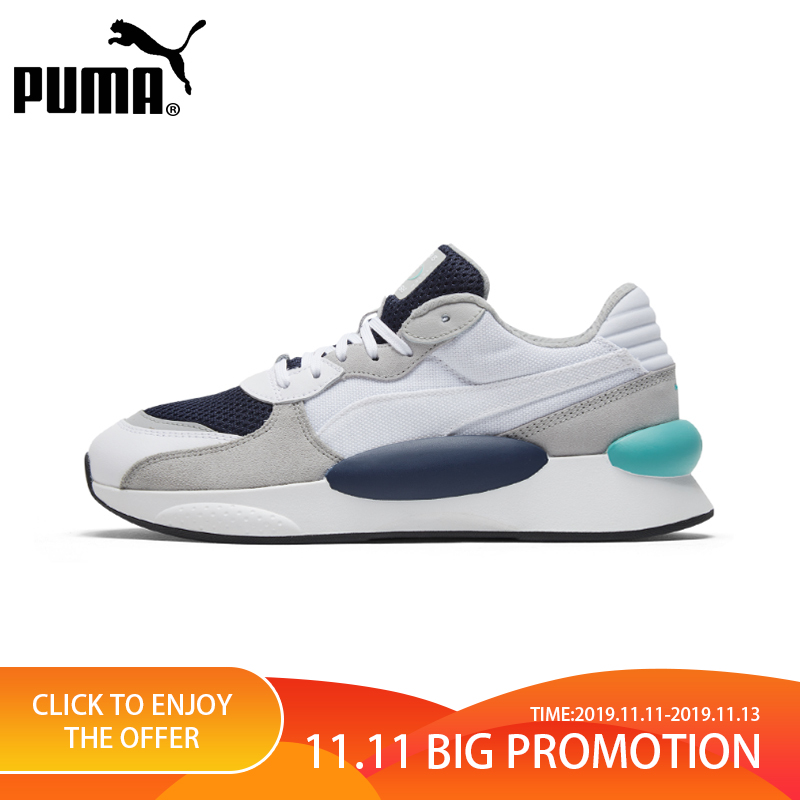 PUMA Shoes RS 9.8 SPACE Men and Women Shoes Original Authentic Leisure Breathable Shoes 2019 Spring New Arrival 37023001