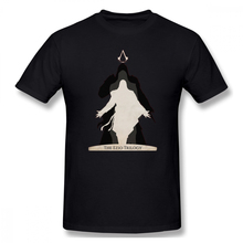 2019 Mens Basic Short Sleeve T-Shirt 3D Print t shirt Assassin Creed The Trilogy Cotton Funny T-shirt home Top Tees