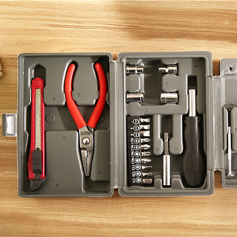 24-Piece Home Car Insurance Gift Set Hardware Tool Kit Repair Combination Tool Set 6