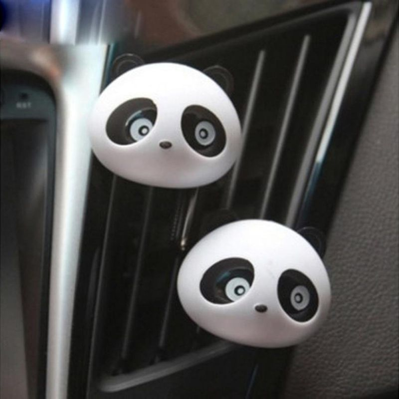 Car Air Freshener Perfumes Panda Air Ventilation Car Smell Flavors Accessories