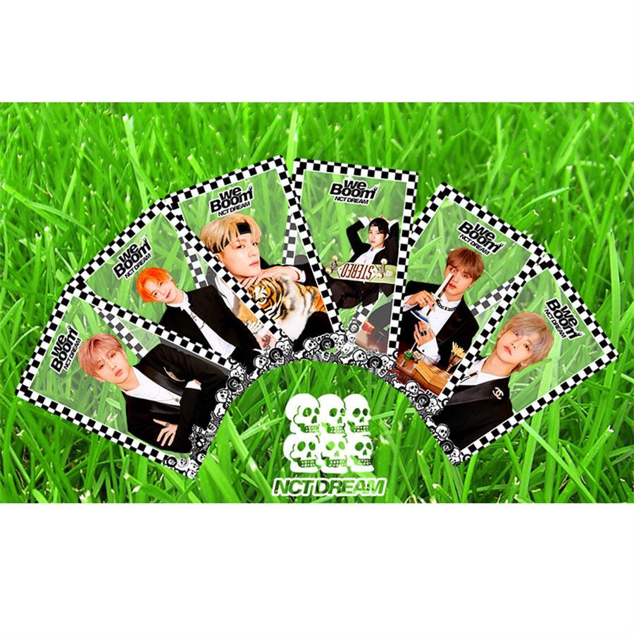 Kpop NCT Dream Haechan Jaemin PVC Clear Photo Card Chenle Jeno We Boom HD Collective Photocard