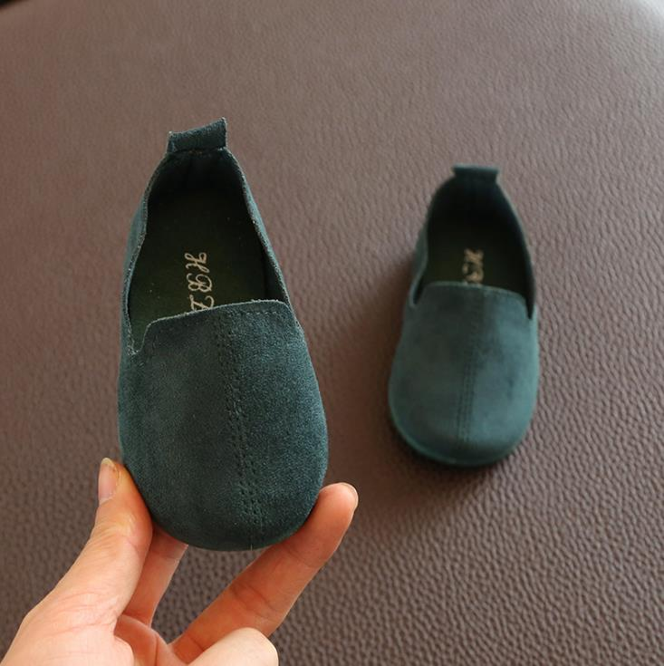 Spring Autumn Baby Girls Boys  Bean Shoes Toddler 4Colors 1-3Years 22-27 P01 TX08 2