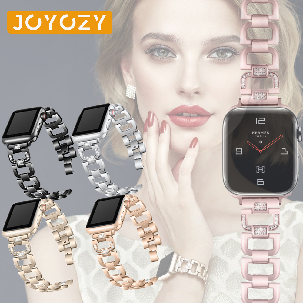 Joyzoy  Band For Apple Watch Series 4  3  2  1   Strap Fashion Wrist Bracelet For IWatch 38mm 42mm 40mm 44mm Watchband