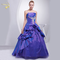 New Arrival A Line Ball Gown Beading Applique Taffeta 2020 Quinceanera Dresses 15 Years Purple Vestidos De Quinceanera OQ4508