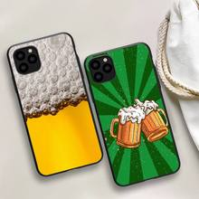 World Beers Alcohol Summer Bubble Phone Case For iphone 5s 6 7 8 11 12 plus xsmax xr pro mini se Cover Fundas Coque