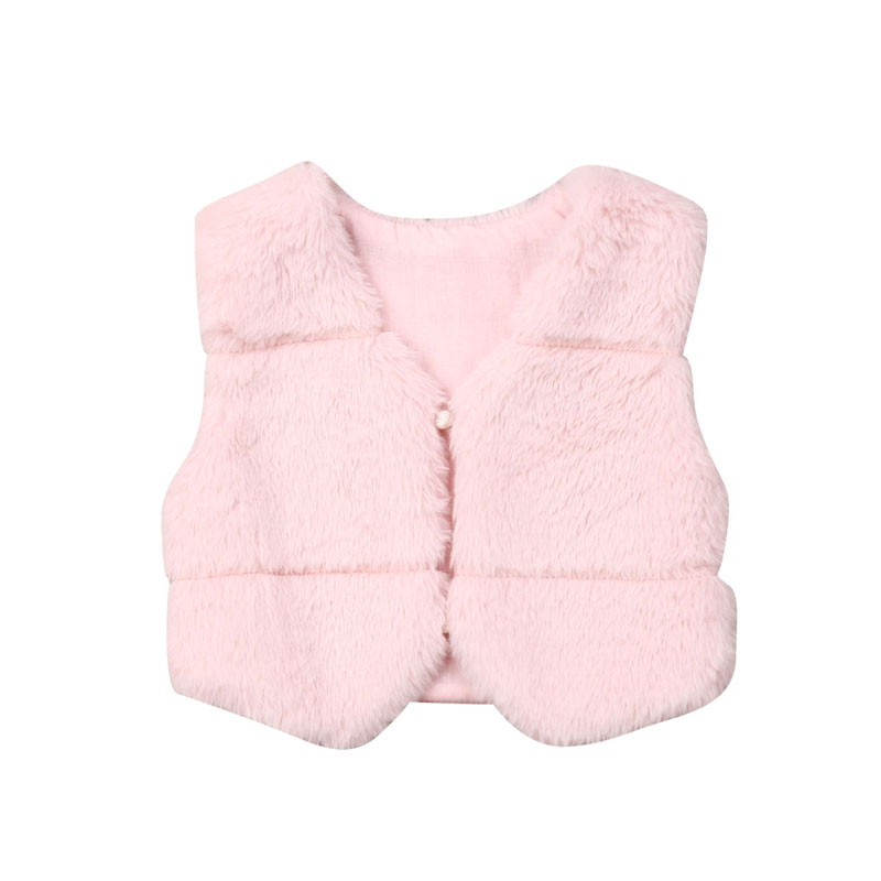 0-3 Years Baby Girl Faux Fur Coat Jacket Cape Poncho Winter Clothes Cloak Cute